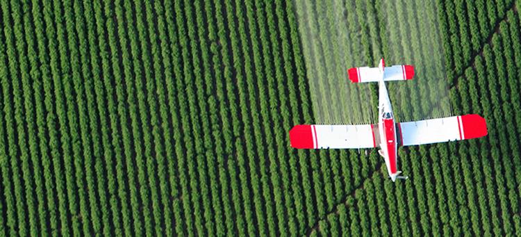 Spraying Crops